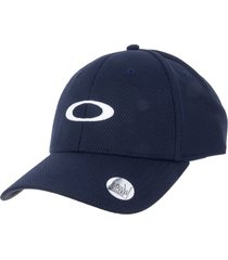 gorra oackley golf ellipse hat azul oscuro
