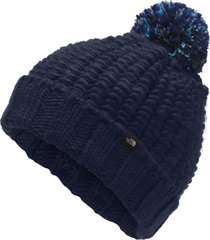 gorro cozy chunky azul the north face