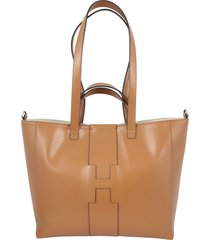 hogan basic maxi shopping grande hobo bag