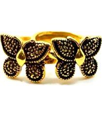 anel armazem rr bijoux borboleta duplo