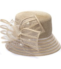 bellissima millinery collection metallic-braid cloche dressy hat