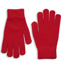 fownes brothers women's antimicrobial knit tech glove - light grey