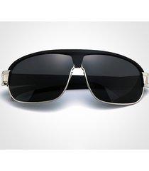 occhiali da sole polarizzati anti-uv casuali degli uomini di modo outdoor occhiali da vista uv400 di grande struttura