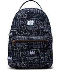 mochila nova medium basquiat negro herschel