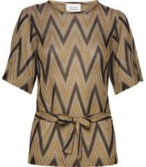 ursa knit top t-shirts & tops short-sleeved bruin second female