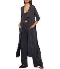 bcbgmaxazria juniors' belted duster