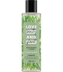 shampoo love beauty óleo de melaleuca e vetiver natural purificador livre sulfatos parabenos 300ml