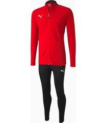 ftblplay trainingspak voor heren, rood/zwart, maat xs | puma