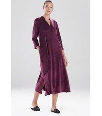 velour lounger top, women's, purple, size s, n natori