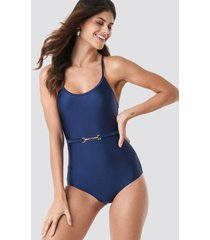 ida sjöstedt bella swimsuit - blue