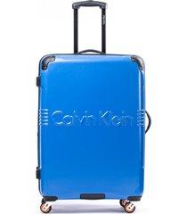 maleta delancy azul 24 calvin klein