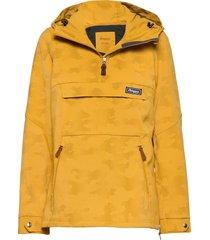 nordmarka w anorak outerwear jackets anoraks geel bergans