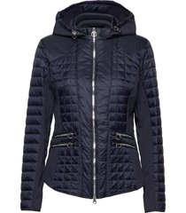 jacket wadding doorgestikte jas blauw betty barclay
