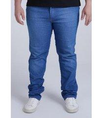calça hd plus size jeans masculino - masculino