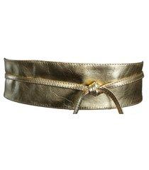 cinto faixa cintos exclusivos dourado