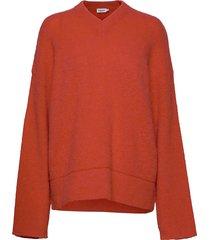 laurel sweater gebreide trui oranje filippa k