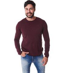 suéter convicto vinho