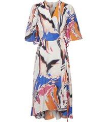 hazini wrap dress