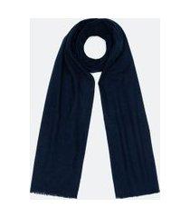 cachecol básico em poliéster | accessories | azul | u