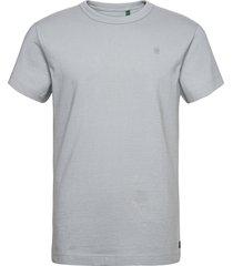 stem r t s\s t-shirts short-sleeved grå g-star raw