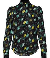 sabine blouse lange mouwen zwart custommade