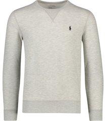 ralph lauren sweater lichtgrijs gemeleerd
