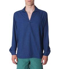 orlebar brown ridley gauze shirt