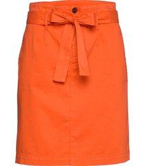 briella-d knälång kjol orange boss