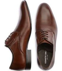 kenneth cole mix-er tan oxford dress shoes