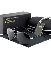 gafas lentes sol hdcrafter 371 pilot polarizados uv400 negro