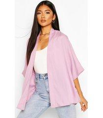 crepe kimono, lilac