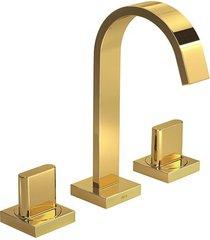 misturador para banheiro mesa polo gold - 1877.gl33 - deca - deca
