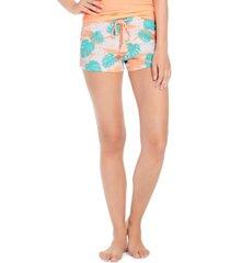 jenni cotton printed pajama shorts, created for macy's