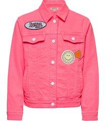 jevy outerwear jackets & coats denim & corduroy roze kenzo