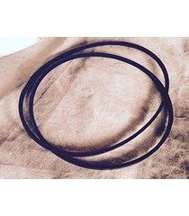 **new 2 belt set** after market ridgid drill press dp15000 817511-1 & 817511-2