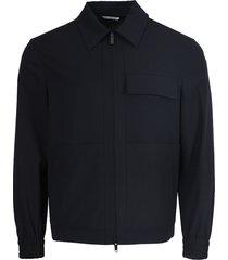 navy wool jacket