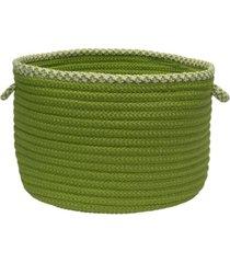 houndstooth bright edge braided storage basket