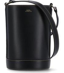 a.p.c. ambre small bucket bag