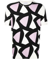 christian wijnants kito triangle intarsia t-shirt - pink