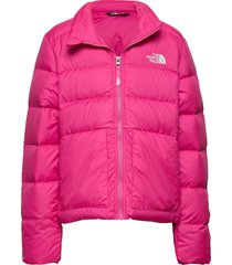 g andes down jacket gevoerd jack roze the north face