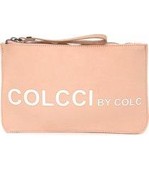 clutch colcci silk rosa - kanui