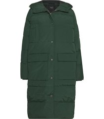 jas mørkegrønn slfjenny down down jacket