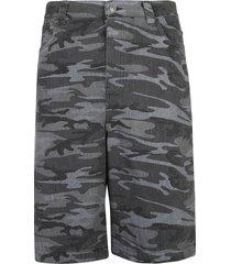 balenciaga camo print shorts