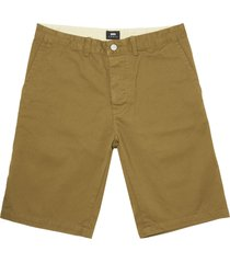 edwin stone beige rail shorts i019508