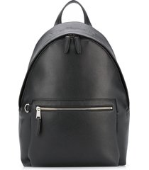 mulberry zipped one-shoulder backpack - black