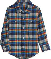 camisa boy gris gap