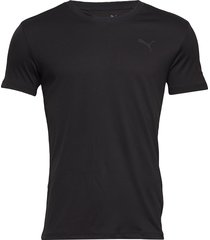 puma active crew tee 1p packed t-shirts short-sleeved svart puma