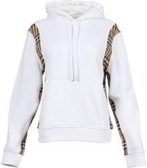 archive beige panel hoodie