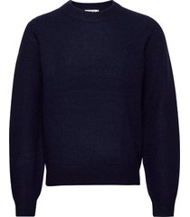 prowler stickad tröja m. rund krage blå tiger of sweden jeans