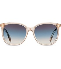 caylin 54mm oversized square sunglasses